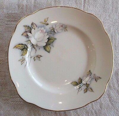 Duchess 'Ice Maiden' side bread plate bone china from England