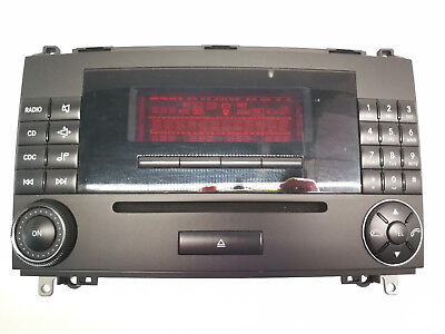 Pioneer Usb Aux in mp3 1din autoradio pour MERCEDES A-Classe 04-12 w169 c169
