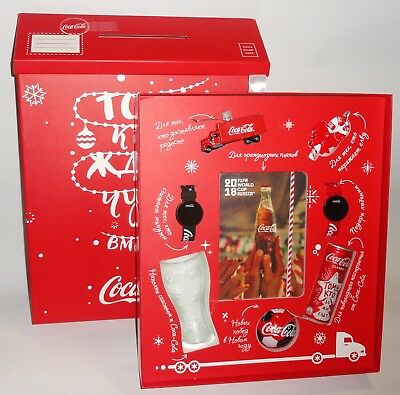 Russia / Russian Coca-Cola VIP xmas 2017-2018 box set