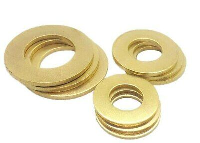 Pack of 25 BA Brass flat washers 6BA 5BA 4BA 3BA 2BA 1BA 0BA model makers