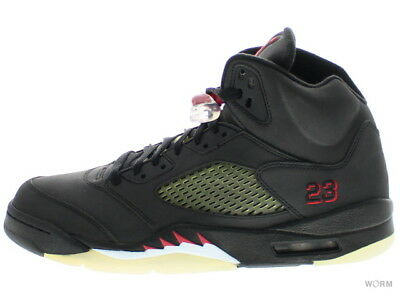 f8c1d8bb53aa NIKE AIR JORDAN V 5 Retro Dmp Raging Bull Toro 136027-061 Black Fire ...