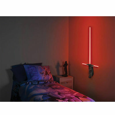 Disney Star Wars Science Lightsaber Room Light Kid Nursery Bedroom Wall Lamp Toy