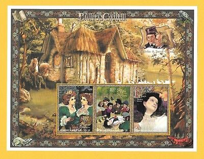 "Grenada "" Brothers Grim "" Snow White ~ Mini Sheet ~ Mint Un Hinged"