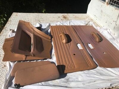 holden gemini tx coupe door trims