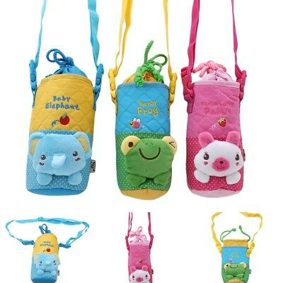 1Pcs Cartoon Baby Milk Bottle Carrier Pouch Covers Insulation Bottle Bag Holder