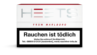 IQOS Tabak Sticks Heets von Marlboro/Red Label (80 Heets)