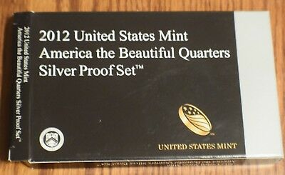 2012 Silver Proof Quarter Set