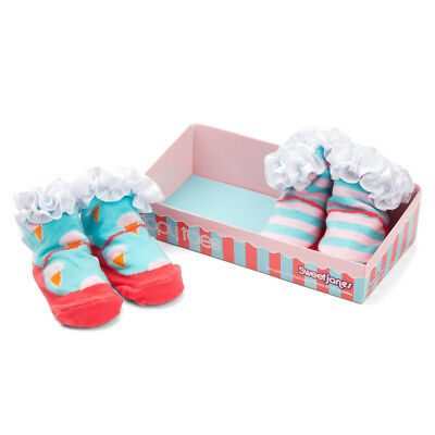 NEW Tippy Toes Sweet Janes Baby Sock Set 2pce