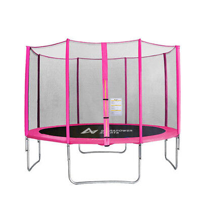 Pink 8ft 10ft 12ft Trampoline Replacement Safety Net Netting Enclosure Surround