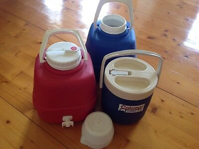 Coleman  & Willow water containers