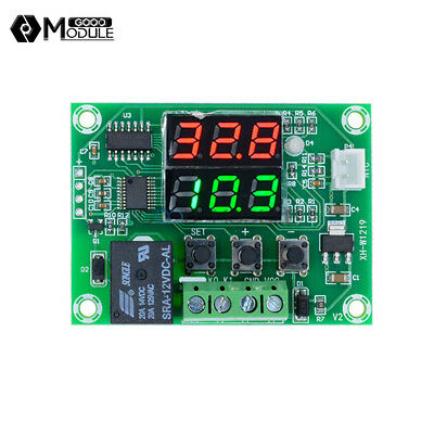 DC 12V Dual LED Digital Cycle Timing Delay Timer Relay Module Clock Controller