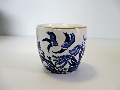 """Burleigh Ware """"Willow"""" Egg Cup"""