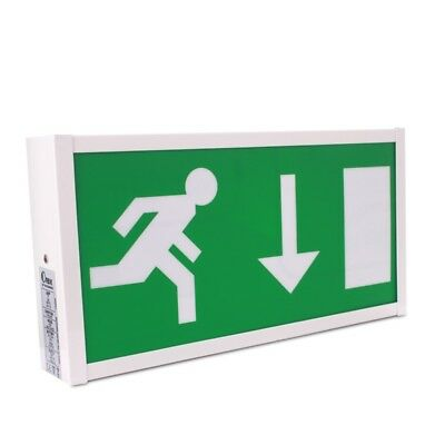 Wall-Mounted 8W Fire Exit Sign with Self-Test - Pico PIC8