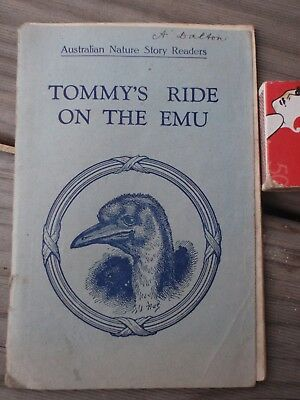 "School Reader ""Tommy's Ride on the Emu"""