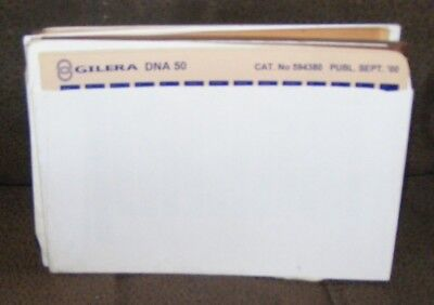 Gilera Parts Catalogues  (Job Lot )  (Microfiche)  Every Thing Listed