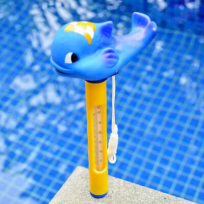 Durable Floating Swimming Pool Thermometer For Ponds Water Temp. Whale #2