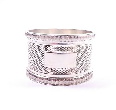 Vintage Napkin Ring J B Chatterly & Sons Ltd Sterling Silver 1979 HM 29.6g