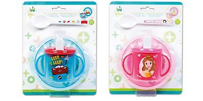 Baby 3 Piece Feeding Set - Bowl/Spoon/Sippy Cup - Choose Design