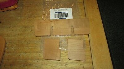 Longaberger Tv Time Woodcrafts Divider Hard To Find Warm Brown Free Shipping