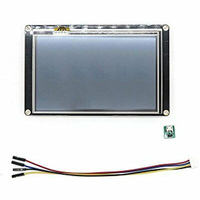 "Monitors Nextion Enhanced 5.0"" Inch USART HMI LCD Touch Display Screen For Pi"