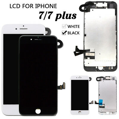 OEM iPhone 7 7 Plus Display Complete LCD Screen Replacement +Home Button+Camera