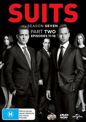 Suits: Season 7 - Part 2 (Episodes 11-16)  - DVD - NEW Region 4, 2