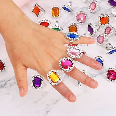 Jewel Rings Loot Gifts Favour Birthday Party Bag Fillers Pirate Treasure Toys