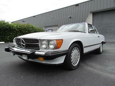 1987 Mercedes-Benz 500-Series 560 SL 1987 Mercedes-Benz 560SL
