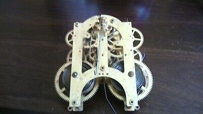 Ansonia mantel/bracket clock movement parts only dated 1888