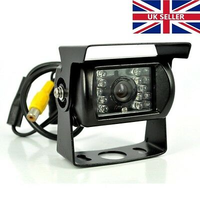 Waterproof Dustproof IR LED Night Vision High Definition Wired Camera For Car