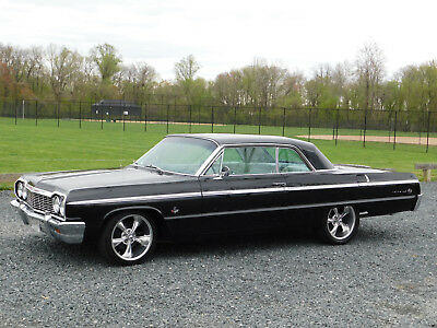 1964 Chevrolet Impala SS Hardtop 4-Speed 1964 Chevy Impala SS HTP; 4-Speed; Fact.A/C; 48k orig. miles; VG Cond. (video)