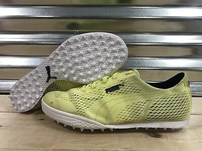 7133bff886c Womens PUMA Monolite Cat Woven Golf Shoes Sunny Lime Yellow SZ 7 ( 190611  04 )