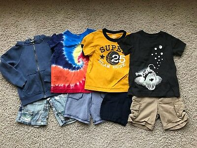 Lot of 8 Boy's Lands End, Old Navy, GAP, Cherokee, The Childrens Place Items 3T