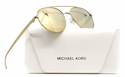 NEW MICHAEL KORS 1021 Lon Sunglasses 11686Q Gold 100