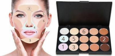 1 palette make up con 15 correttori in crema viso/ base trucco/fondotinta