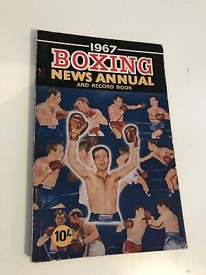 1967 Boxing News Annual And Record Book