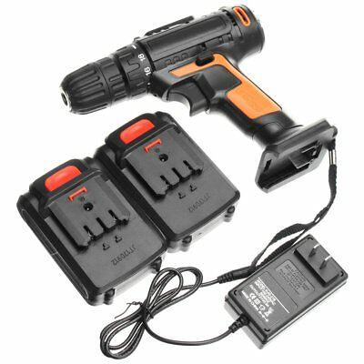 21V Cordless Lithium Electric Screwdriver Power Driver Drill Multipurposed Drill