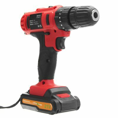 21V Cordless Hammers Impact Drill Rechargeable Electric Screwdriver 1 Charger 1