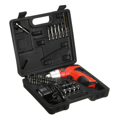 Raitool 45 in 1 LED Electric Screwdriver Cordless Power Drill Set Electric Drill