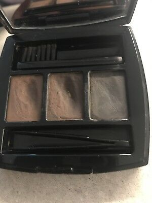 CHANEL Perfect Brows DISCONTINUED EYEBROW KIT 3 Powders COMPACT MIRROR RARE
