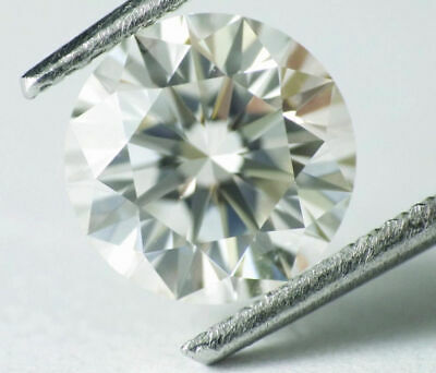 1.58 carat J Flawless Loose 100% Natural Diamond Round Cut GIA Certified AMAZING
