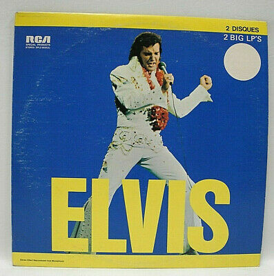 ELVIS PRESLEY - ELVIS - 1973 VG+ on RCA DPL2-0056 TWO VINYL LP SET