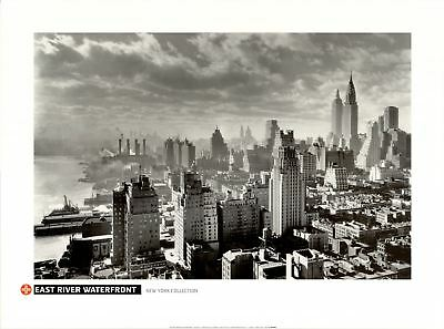 East River Waterfront - Fine Art Poster