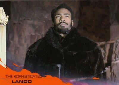 Solo A Star Wars Story - Orange Parallel Base Card 66 (25/25)