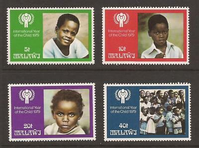 MALAWI 1979 SG602/605 International Year of the Child Set MNH (JB4070)