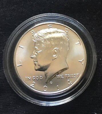 Silver 2014 D - Silver Kennedy Half Dollar - From 50Th Anniversary Set