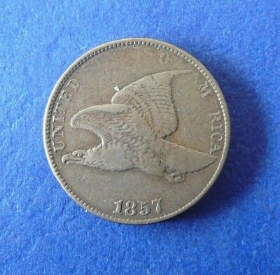 1857 Flying Eagle Penny! Nice Coin For Your Collection!!
