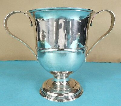 Superb Georgian Sterling Silver 2 Handled Loving Cup William Shaw London 1765