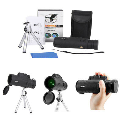 Day Night Vision 12x52 HD Optical Monocular Hunting Camping Telescope Tool.Pro