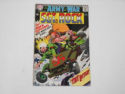 Our Army At War #175, (DC . Jan. 67), T.N.T. Letter, 8.0  VF